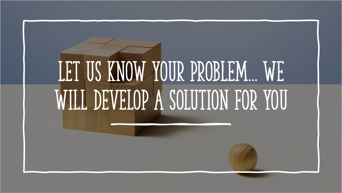 Customised Solutions for All Your Improvement Needs